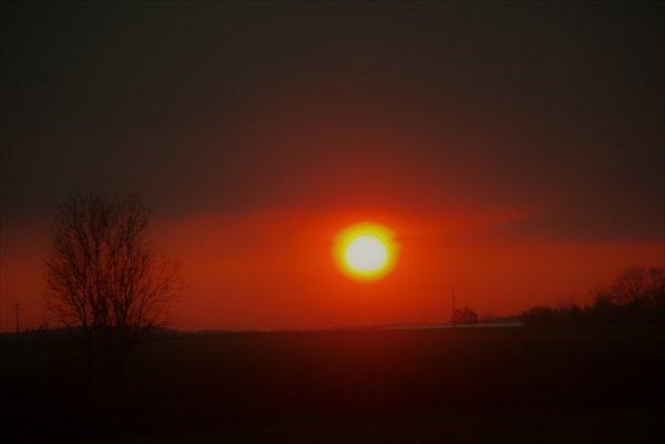 coucher de soleil et autre