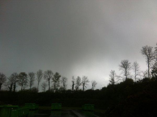 Pluies, neige fondue et grêle...
