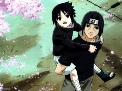les deux frere itachi et sasuke