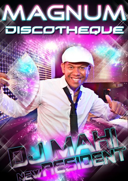 NEW RESIDENT DJ MAHI
