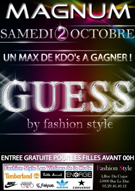 GUESS by FASHION STYLE