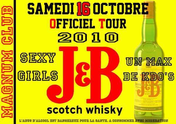 J&B OFFICIEL TOUR 2010