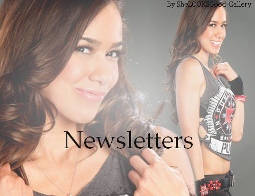 AwesomeDivas Ta Source Sur Les Divas Du Catch♥: Newsletters♥