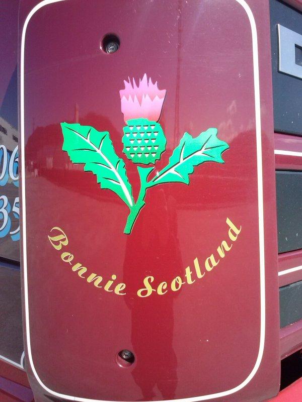 daf xf ecossais