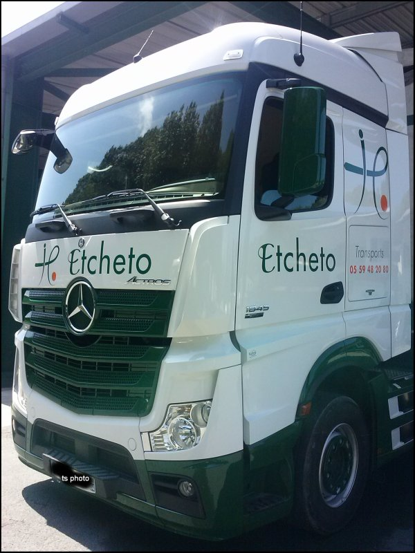 MERCEDES ACTROS MP4 ETCHETO