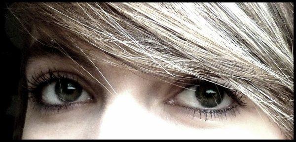 Les yeux sont les fenètres de l'âme