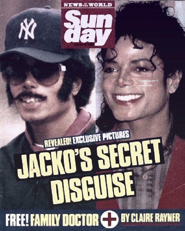 . 28/08/88 : Michael Jackson fait la une du magazine « Sunday » en Angleterre..