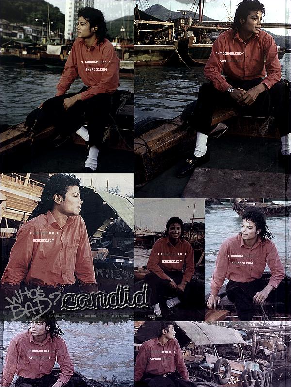 .  23/10/87 au ? :  Michael Jackson prend quelques jours de vacances en « Chine » avant de reprendre la tournée. .