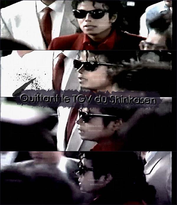 . 17/09/87  : Michael Jackson a été aperçu prenant le  « TGV du Shinkasen  » se situant à Tokyo !.