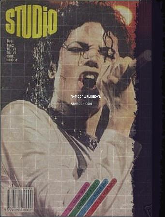. 10/06/88   : Michael Jackson fait la couverture du magazine « Studio Magazine » en Yougoslavie..