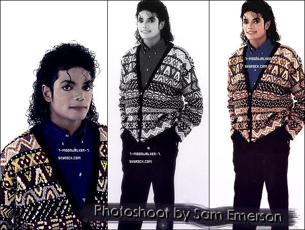 . Découvrez l'un des photoshoots rares de Sam Emerson avec Michael Jackson !  - Aucune date (année) n'a été citée pour ce photoshoot, en revanche il peut probablement daté de 1987 (non confimé) ! © - .