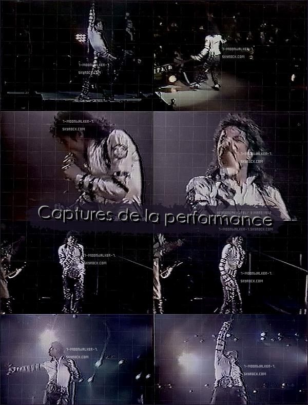 . – Article n°..  / Posté le 05/03/88 / Concert : Michael Jackson donne un derier concert consécutif au « Madison Square Garden » se situant dans New York City. - Il réunit plus de 19 000 personnes. / Concert non privé. .