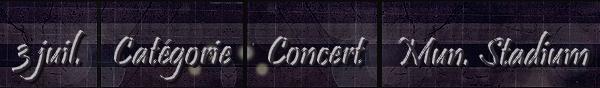 .  03/07/88  : Michael Jackson donne un concert  au  « Mungersdorfer Stadium »  à Cologne. .