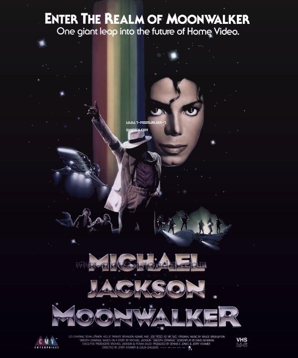 .  10/01/89 : Sortie VHS de la vidéo musicale « Moonwalker » aux États-Unis..