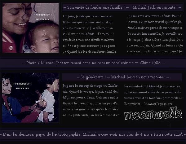 . 20/04/88 : Sortie nationale de l'unique autobiographie de Michael Jackson « Moonwalk » ! – CONCERT : Le soir même, Il donne un concert au « Rosemont Ho. » à Chicago devant plus de 30 000 personnes.  .