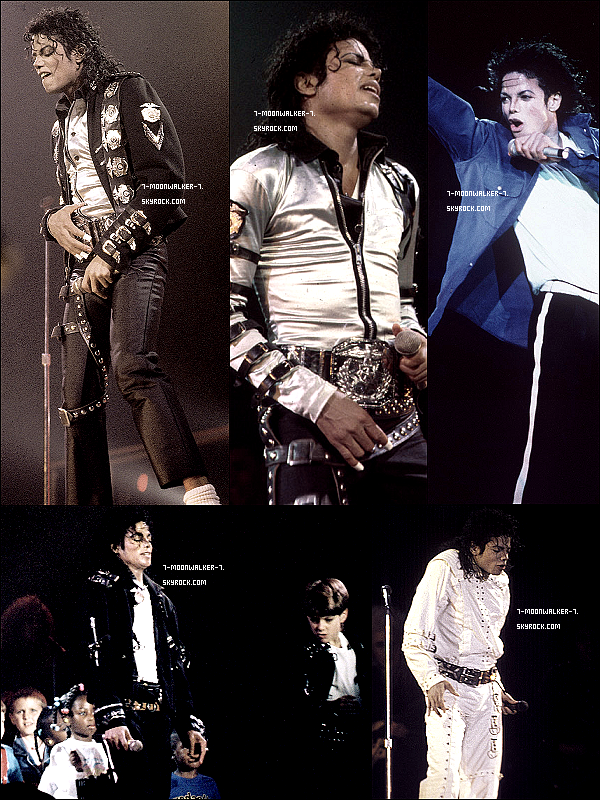 . 27/01/89  : Michael Jackson donne son dernier concert de la tournée au « Memorial Sports Arena » à LA..