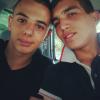 Moi et Mon bg de cousin <3 (Je suis a gauche)