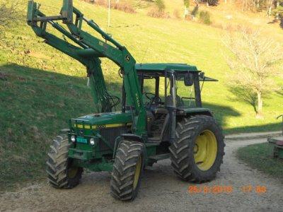 mon tracteur