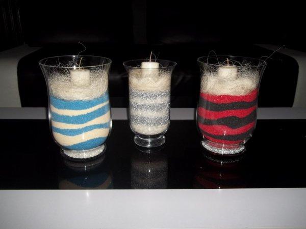 voici mes trois premier vases
