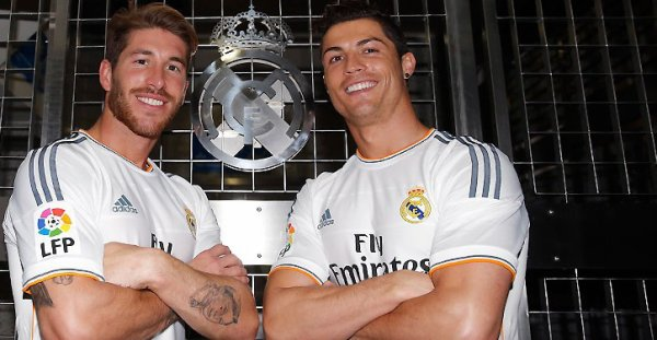 the 2 stars of real Madrid