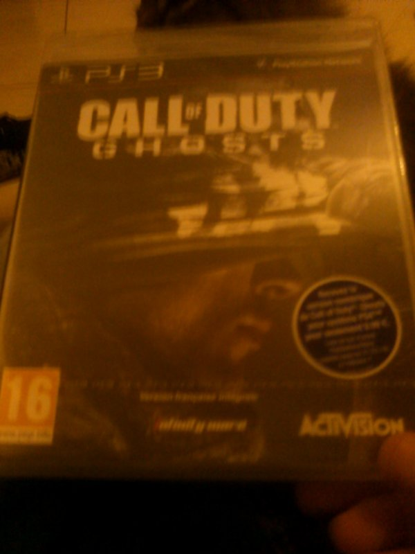 Call Of Duty Ghosts :3