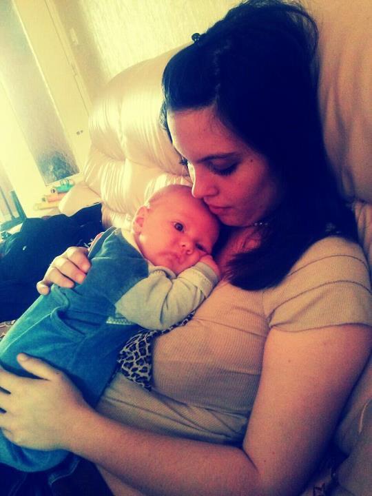 Le Bébé a sa tata :D ♥  Matthew