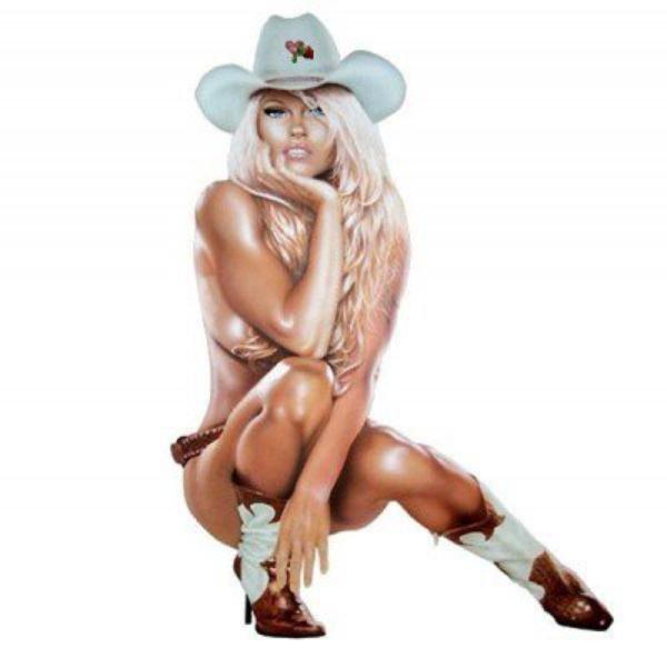 ****  Pinup Western (12)  ****