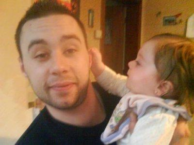 Mon frère et ma nièce