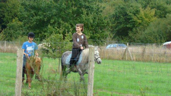 Un nouveau cavalier pour Plume!