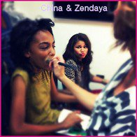 China , Zendaya , Bella , Debby ♥