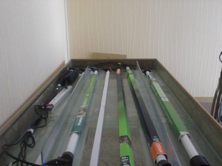 L 39 eclairage aquarium 600l 100 passionner for Aquarium 600l