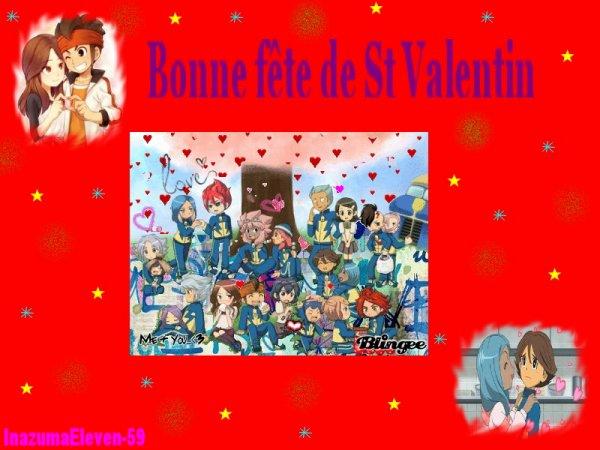 Bonne fête de St Valentin :)