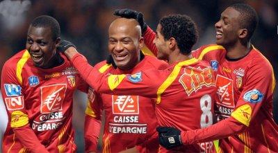 Maillot porté coupe de France Lens-Marseille 2010
