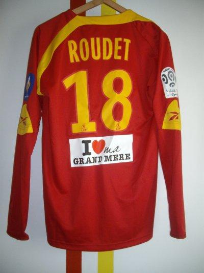 Maillot porté Sébastien Roudet Lens-PSG