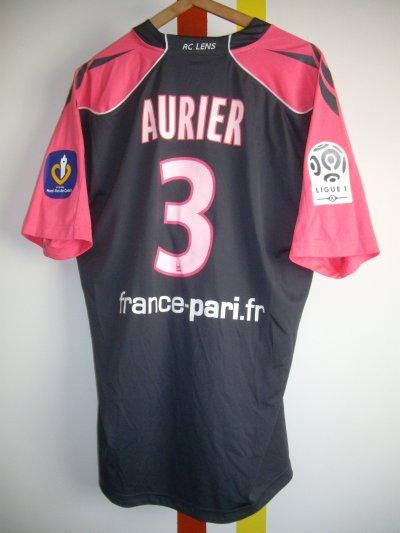 Maillot porté Serge Aurier Atletic Bilbao-Lens