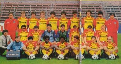 Maillot porté Philippe Vercruysse 1984/1985