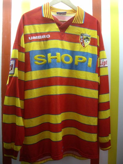 Maillot porté Frédéric Déhu saison 1996/1997