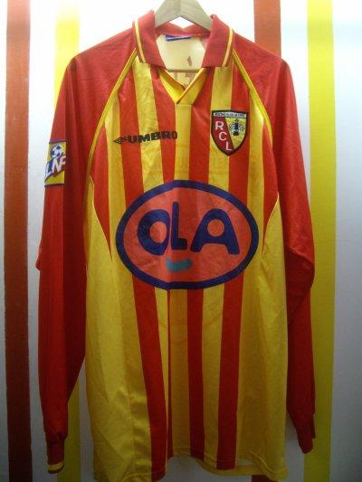 Maillot porté Frédéric Déhu saison 1998/1999
