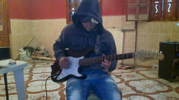 I love my guitare