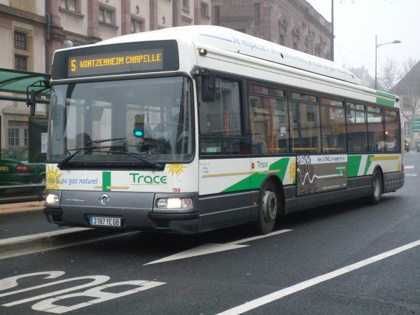 Agora S GNV du réseau de bus de Colmar (TRACE)