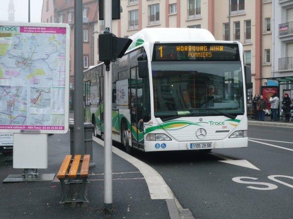 Mercedes-Benz Citaro I GNV du réseau de bus de Colmar (TRACE)