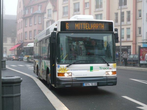 Heuliez GX 117 du réseau de bus de Colmar (TRACE)
