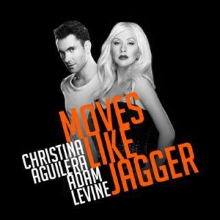 Maroon 5 feat Christina Aguilera - Moves like jagger. (2011)