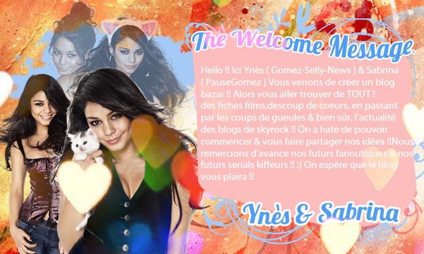 Bienvenue ;3♥