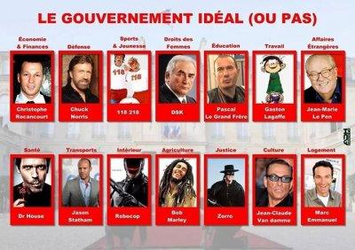 Nouveau gouvernement!