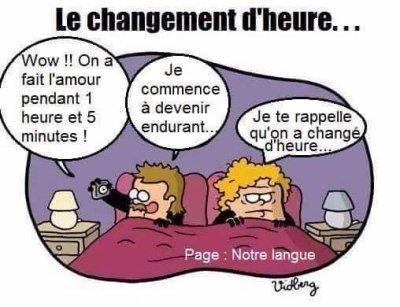 Changement d'Heure!!!!!