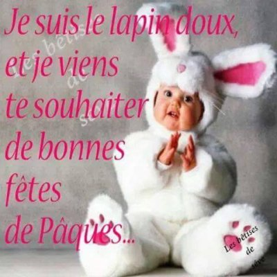 Bonne Pâques A Tous!!!!!