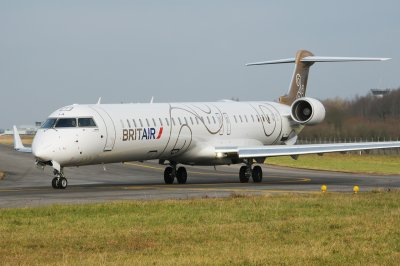 Photo : CRJ 1000 BRITAIR à Nantes