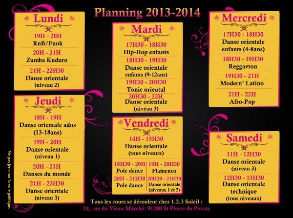 PLANNING 2013/2014