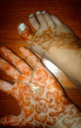 Ma main && mon pied au henna